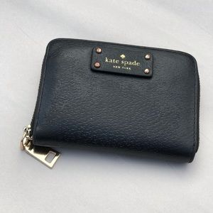 Kate Spade Jeanne Small Ring Zip Around Card Case